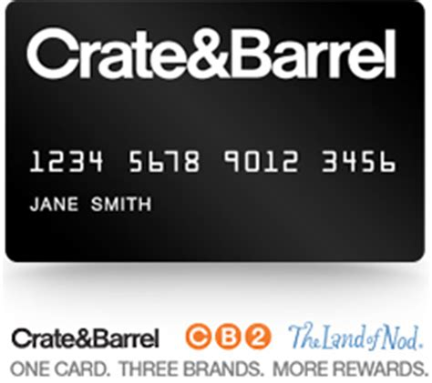 Crate And Barrel Gift Card At Cb2 - crate and barrel credit card cb2