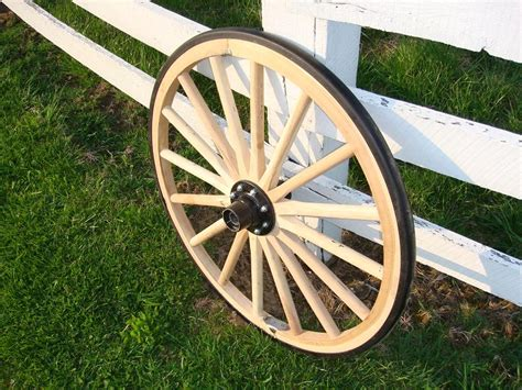 Decorative Wagon Wheels by Steam Bent Hickory Decorative Wagon Wheel With Rubber Tire 30 Inch