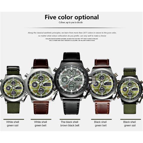 Jam Tangan Navi Brown jam tangan pria qoo10 jam simbok
