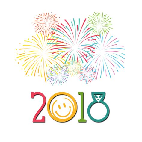 new year design psd text 2018 happy new year new designs for new year png