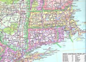 northeast us road map images