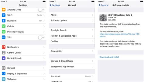 how to install ios 10 public beta on your iphone or ipad how to download ios 10 3 3 developer beta 6 to your iphone