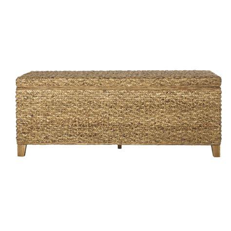 home decorators storage bench home decorators collection kenna natural woven storage