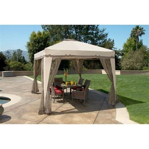 portable awning for patio portable 12 x 10 gazebo canopy tent screen house garden patio with bug netting