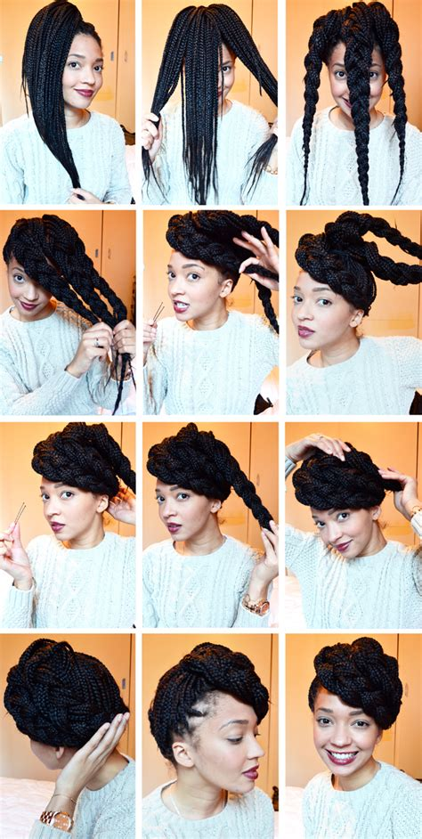 simple and cute ways to style braids entretien de mes box braids 4 id 233 es coiffure