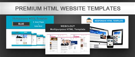 themes html premium premium html templates from trytemplates