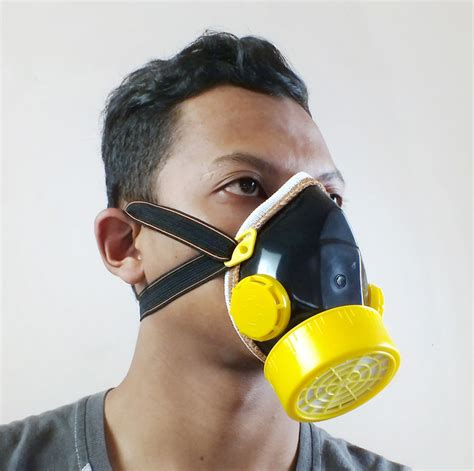 Harga Selang Irigasi Kabut masker chemical respirator single plus filter carbon