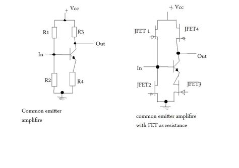 voltage variable resistor jfet variable resistor jfet 28 images using jfets as variable resistors diy voltage controlled
