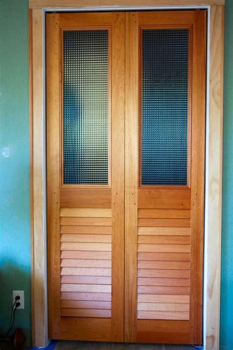 custom glass  louvered bifold doors louvered bifold