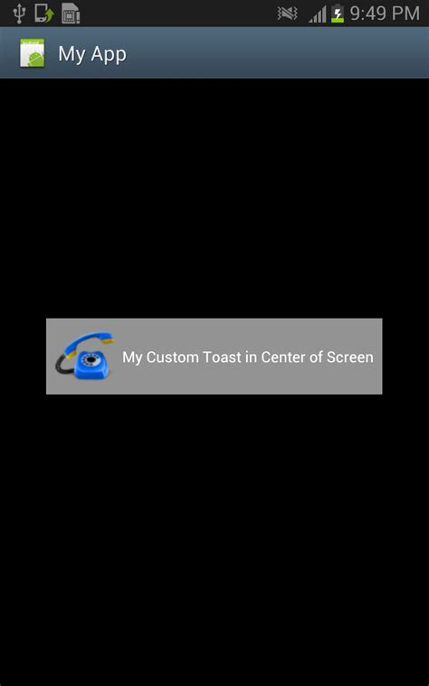 toast android android tutorials for beginners customizing toast in android
