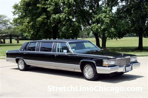 classic limo chicago classic limousine 6 passenger vintage cadillac