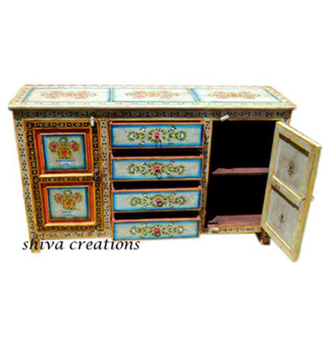 painted living room furniture painted indian sideboard cabinet painted living room