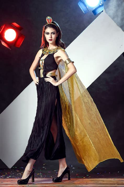 Stylish Costume Of The Day Goddess by New Arrival Cleopatra Costumes Fancy Dress Indian