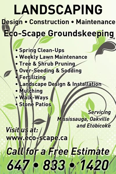how to make lawn care flyers and postcards for free youtube