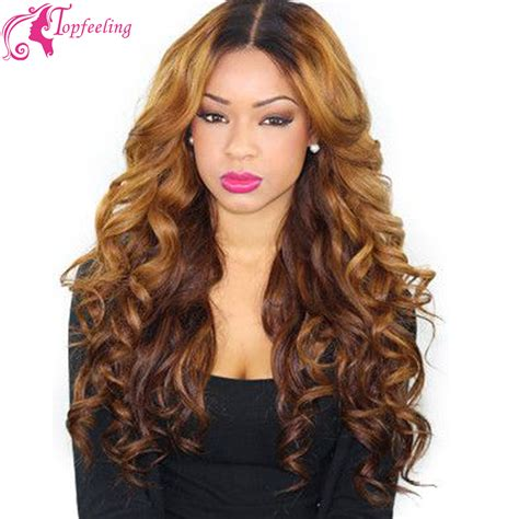 aliexpress lace wig 8 24inch brazilian virgin hair lace front wig ombre full