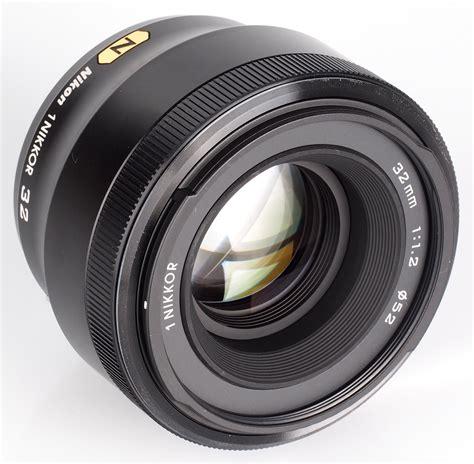 Nikon F1 2 nikon 1 nikkor 32mm f 1 2 lens review