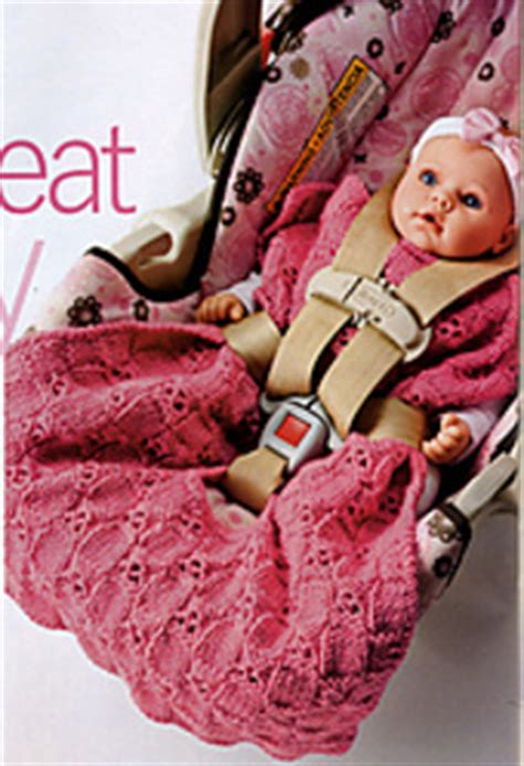 car seat cozy knitting pattern ravelry car seat cozy pattern by beth temple