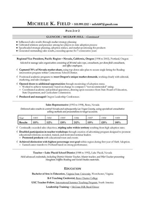 A Great Resume by Great Sales Resume Design Templates