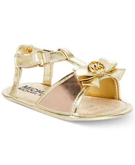 michael kors sandals for babies michael michael kors baby kya sandals
