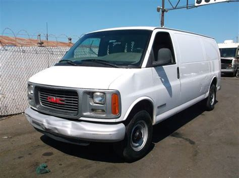 purchase used 2001 gmc savana no reserve in orange california united states