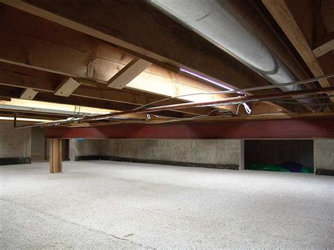 crawl space basement basement carpet finally