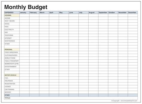 6 sample household budget spreadsheet balance spreadsheet
