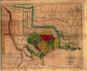 map of 1836 map of the state of coahuila and 1836 tslac