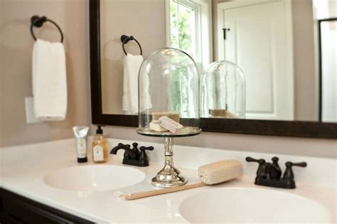 Double Sink Bathroom Decorating Ideas Oil Rubbed Bronze Faucet Traditional Bathroom Sabal