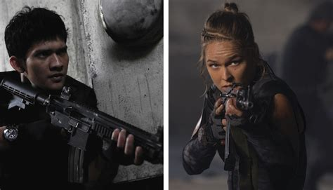 film iko uwais 2015 ufc ch ronda rousey joins the raid star iko uwais in
