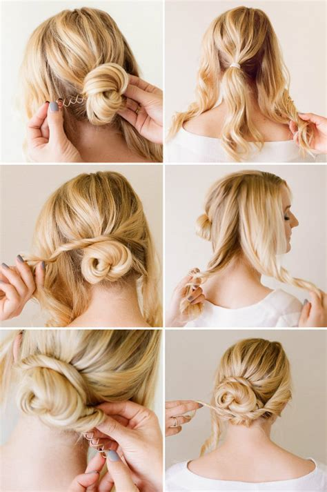 hair do curly and kepang elegant hair styles for women pretty updo step by step