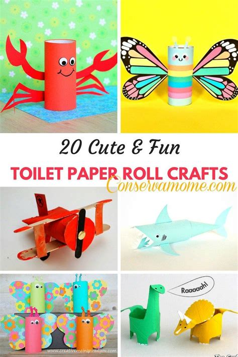 Toilet Paper Crafts For - best 20 toilet paper roll crafts ideas on