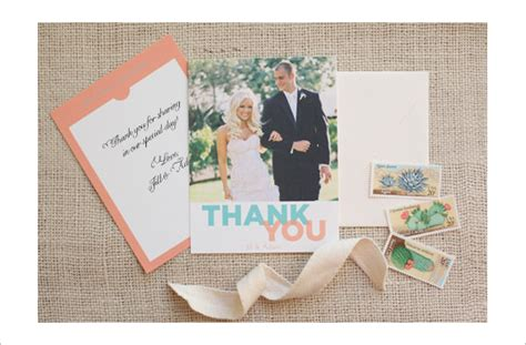 printable wedding thank you card template 19 photography thank you cards free printable psd eps