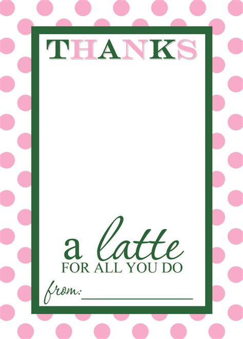 Temple Coffee Gift Card - 25 best ideas about thanks a latte on pinterest starbucks gift ideas free