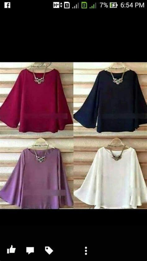 Cara Buat Blouse | blouses on pinterest