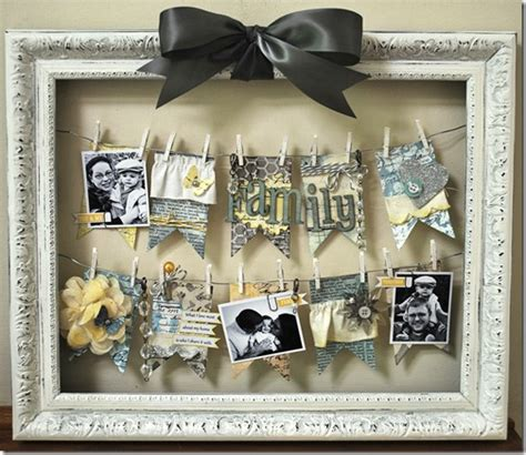 hanging picture ideas 38 easy diy photo and picture frame crafts