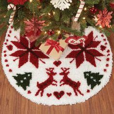 latch hook christmas tree skirt kits latch hook tree skirt kits trees trees and hooks