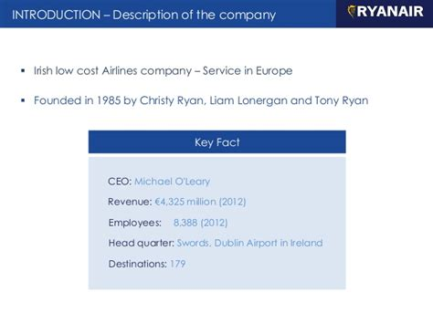 Ryanair   Marketing service