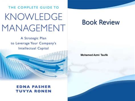 A Guide Book Knowledge Management knowledge management book review