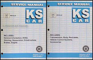 car repair manuals download 2005 cadillac deville lane departure warning 2005 cadillac deville repair shop manual original 2 volume set
