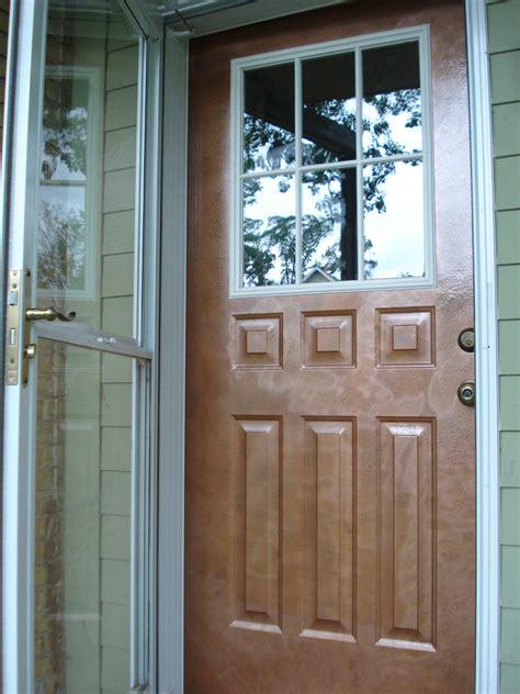 Repainting The Front Door The Woo Woo Teacup Journal | copper front doors houses plans designs