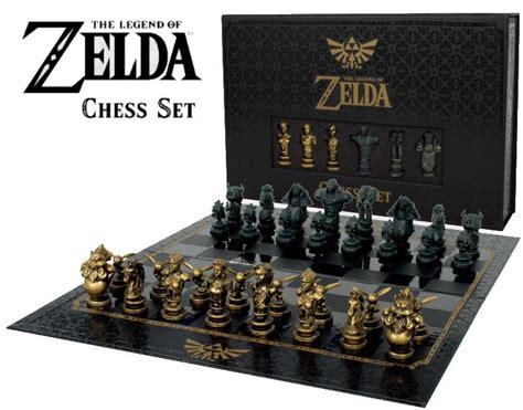 legend  zelda chess set usaopoly da card world