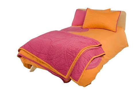 Pink Orange Comforter by Pink And Orange Bedding From Truemodern Home