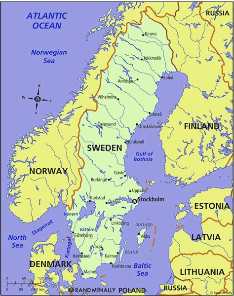 maps maps maps map of sweden in the world sweden map geography