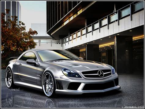mercedes sl65 amg black series and clc convertible