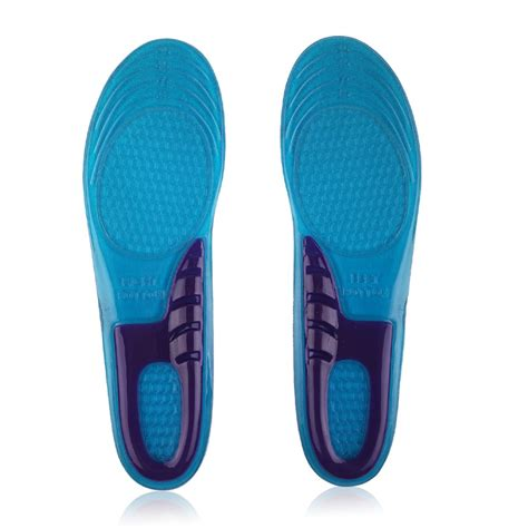 sport shoe insoles silicone gel orthotic arch support massaging
