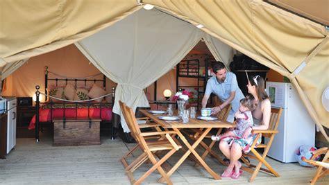spacious  comfortable safari tent sleeps  eurocampcouk