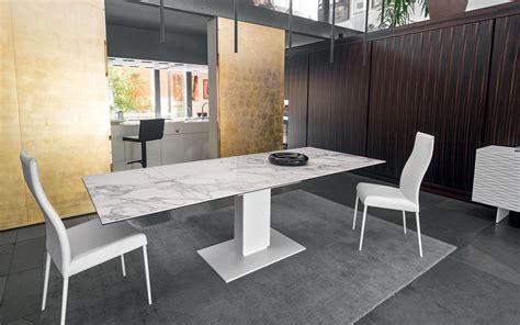 tavoli ceramica tavolo calligaris echo ceramica vetro bianco