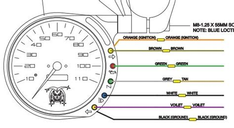 2006 harley sdometer wiring diagram harley davidson