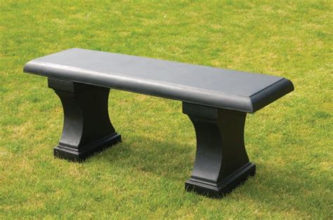 black garden bench uk stone garden bench garden furniture black stone bench