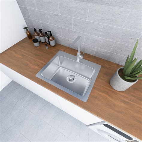 Everhard Sinks by Everhard Nugleam 45l Utility Laundry Sink Bunnings Warehouse